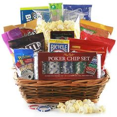 Chance to Win an M&Ms Poker Face Gift Basket!
