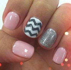 20 Unique Nail Art Ideas and Designs for New Year*s Eve