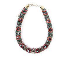 Collar bordado Miranda - multicolor