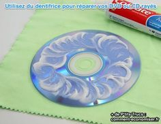 Votre DVD préféré est rayé ? Essayez de les réparer une bonne fois pour toutes avec cette astuce étonnante. Utilisez du dentifrice pour venir à bout des micro-rayures qui font sauter la lecture de votre DVD. Cette méthode est aussi valable pour vos vieux CD.   Découvrez l'astuce ici : http://www.comment-economiser.fr/dentifrice-reparer-cd-rayes.html?utm_content=buffer7cc97&utm_medium=social&utm_source=pinterest.com&utm_campaign=buffer