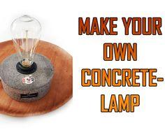 Exclusive Concrete Lamp