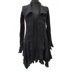 Funky pixie Coat - black colour