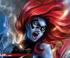 mystique marvel comics ms HD Wallpaper