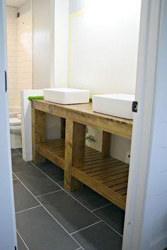 43 Best Diy Bathroom Vanity Images On Pinterest Bathroom Ideas