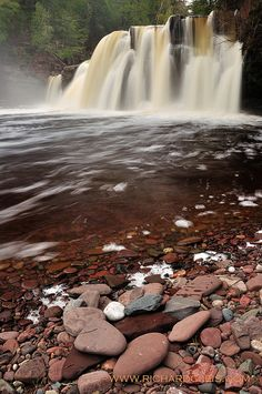 Manabezho Falls, Upper Peninsula of Michigan