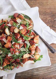 warm-roasted-potato-salad-with-pancetta-sun-dried-tomatoes-and-arugula-4