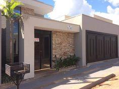 67 Ideas home garden design layout house plans for 2019 House Gate Design, Home Garden Design, House Front Design, Modern House Design, Style At Home, Mexico House, Dream House Exterior, Garage Exterior, Facade House
