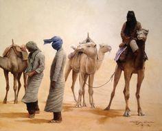 "Sandstorm ""oil on canvas"" 60 x 50 cm.  www.ortegaavila.com"