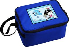 Send your kid's lunch to school or nursery in this fun and bright Pirate themed cool bag.