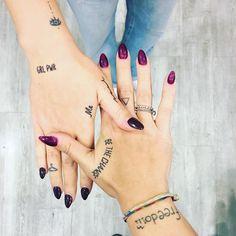 Deze 17 tattoos zijn zo klein dat zelfs je moeder ze mooi zal vinden - Colourful Rebel | The young & restless