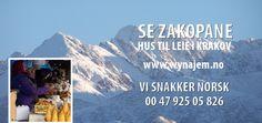 SE Zakopane https://www.facebook.com/feriehusipolen http://www.wynajem.no