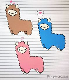 Stick these cute alpaca stickers on your phone, DS, notebook, game console, or computer to achieve maximum kawaii!  **NOW AVAILABLE AS