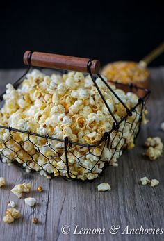 Kettle Corn | Lemons & Anchovies blog  Another one to make for my dad