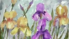 Ever wonder how painters capture the ethereal beauty of flowers in nature? Learn how to create gorgeous watercolor effects in this inspiring demonstration.