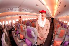 Fly #Emirates #A380. I miss being in a plane!!! #travel #airline #comfortable #seats :)
