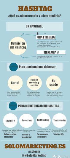 Qué es un Hashtag y cómo usarlo #infografia #infographic #socialmedia