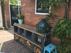 Buitenkeuken big green egg