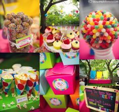 Cute sweet treats