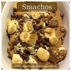 Smachos (s'mores + nachos) ---saw these on Nate Berkus show today...looked so good!