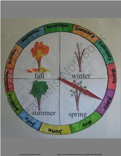 homeschool calendar with seasons - Google Search