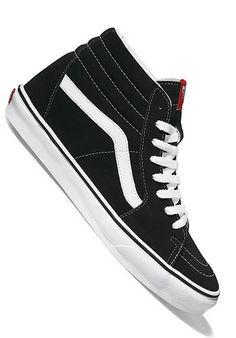 ef25b665e59f1d my next pair of shoes when I not poor anymore😍 Vans Sk8 Hi Black