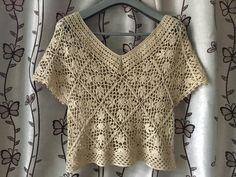 Ripple Rainforest Scarf pattern by Ellie from Hook Yarn Carabiner Crochet Bolero Pattern, Crochet Yoke, Crochet Blouse, Crochet Patterns, Crochet Shrugs, Crochet Sweaters, Vestidos Bebe Crochet, Moda Crochet, Crochet Tank Tops
