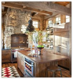 Art Symphony: Rustic retreat with an industrial touch
