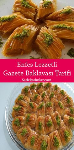Turkish Sweets, Baklava Recipe, Asparagus, Green Beans, Bakery, Cooking Recipes, Vegetables, Food, Kitchens