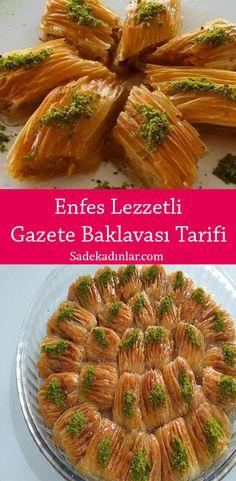 Baklava Cheesecake, Baklava Recipe, Turkish Sweets, Asparagus, Green Beans, Bakery, Cooking Recipes, Vegetables, Food