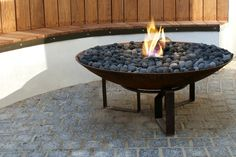 Chiminea Clay Fire Pit