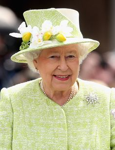 Queen Elizabeth II and Prince Philip, Duke Of Edinburgh Carry Out Engagements In Windsor on April 21, 2016 in Windsor, England. Today is Queen Elizabeth II's 90th Birthday.