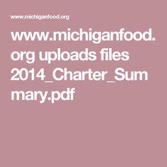 www.michiganfood.org uploads files 2014_Charter_Summary.pdf