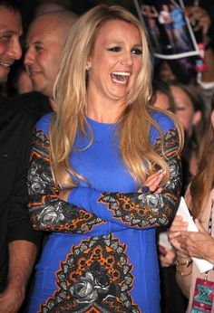 Britney at The X Factor screening in Hollywood at the Grauman's Chinese Theatre.