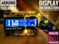 Arduino Toolboxes : Analog Level Visualizer