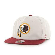 15f27debd47 Washington Redskins Marvin Captain Rf Natural 47 Brand Adjustable Hat