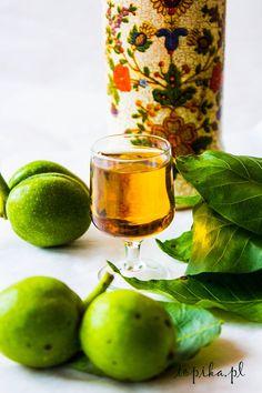 Likier orzechowy z pomarańczą - Topika