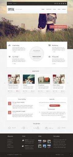 Fresh #Website #Design