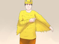 If you need a quick, easy costume for trick-or-treating, a party, or a play, consider making a duck costume. You'll need to pull out your crafting supplies when making the bill, feet, and body, but the steps are still fairly simple. Get a...