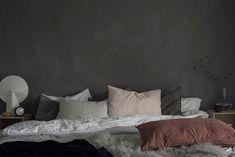 Wall Colors, Paint Colors, Colours, Interior Stylist, Interior Design, Studio Interior, Cozy Bedroom, Cool Furniture, Color Combinations