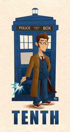 Tenth Doctor by Erich0823.deviantart.com on @deviantART