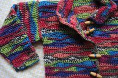 Wee Crocheted Cardigan