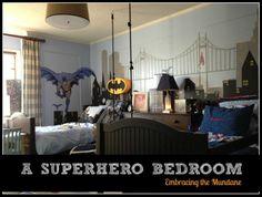 Embracing the Mundane...superhero bedroom