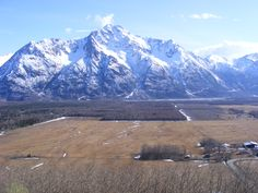 Pioneer Peak today in the Mat-Su Valley, Alaska I feel like everyone from the valley thinks this is their mountain
