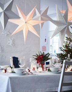 〚 Big selection of fresh ideas for New Year and Christmas decoration by IKEA 〛 Christmas Trends, Christmas Inspiration, Christmas 2019, Christmas Home, Christmas Cookies, Grand Designs, Inspiration Ikea, Ikea Lighting, Thanksgiving