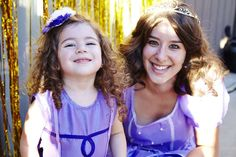 Once Upon a Time... Mia meets Sofia the First | CatchMyParty.com