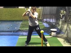 Baseball and Softball Hitting Drills - Staying Back