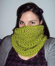 Cuello Pistacho. Ganchillo (crochet)