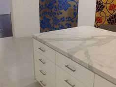 Porcelain Slab   Kitchen Countertops   Mitred Edges