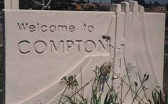 Compton is almost exactly like the West Egg in the story. They both have little to no money and have alot of crime as well. West egg could also be like Chapmon town in Chico.