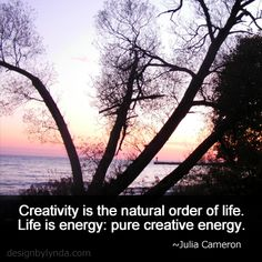 Creativity is the natural order of life. Life is energy: pure creative energy. Julia Cameron, The Artist's Way, Spiritual Practices, Beautiful Stories, Powerful Words, True Stories, Photo Art, Spirituality, Inspirational Quotes